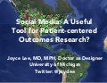 Social Media: A Useful Tool for Patient-centered Outcomes Research?