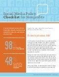 Social media checklist for non profits