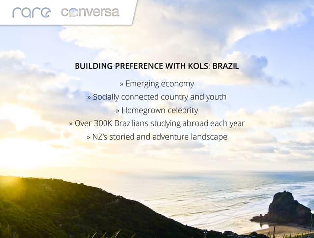 Building Brand Preference with KOLs: Brazil #smcakl