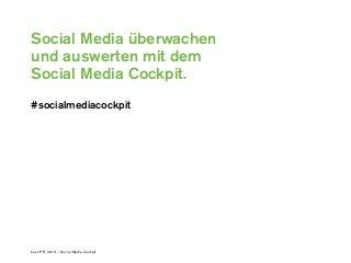 Social Media Evaluation: Social Media Cockpit