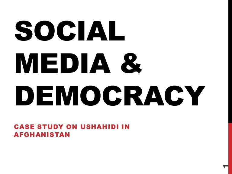 social media and democracy Available languages: english recently, the complex relationship between social media and democracy has come into public focus social media doesn't only expand the space for democratic participation, it can also be used to manipulate and undermine it.