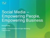 Social Media Empowering People, Empowering Business -  Emma Roffey