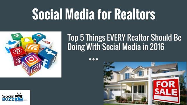 Social Media For Realtors - Social Media and Real Estate w/ Sebastian Rusk