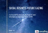 Social Business Future Gazing for 2016