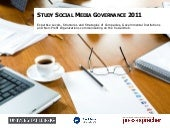 English version: Social Media Governance 2011 Study - Results