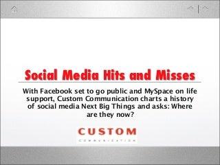Social media company hits and misses