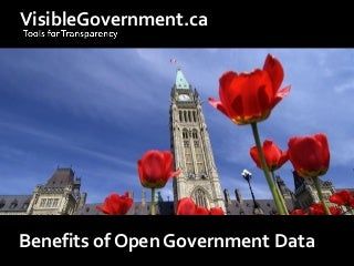 Benefits of Open Government Data (Expanded)