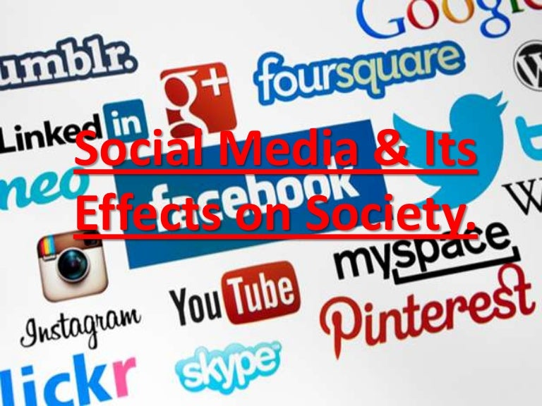 social media and its negative effects on society