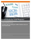 Social Media for Attracting Local Business & Customers