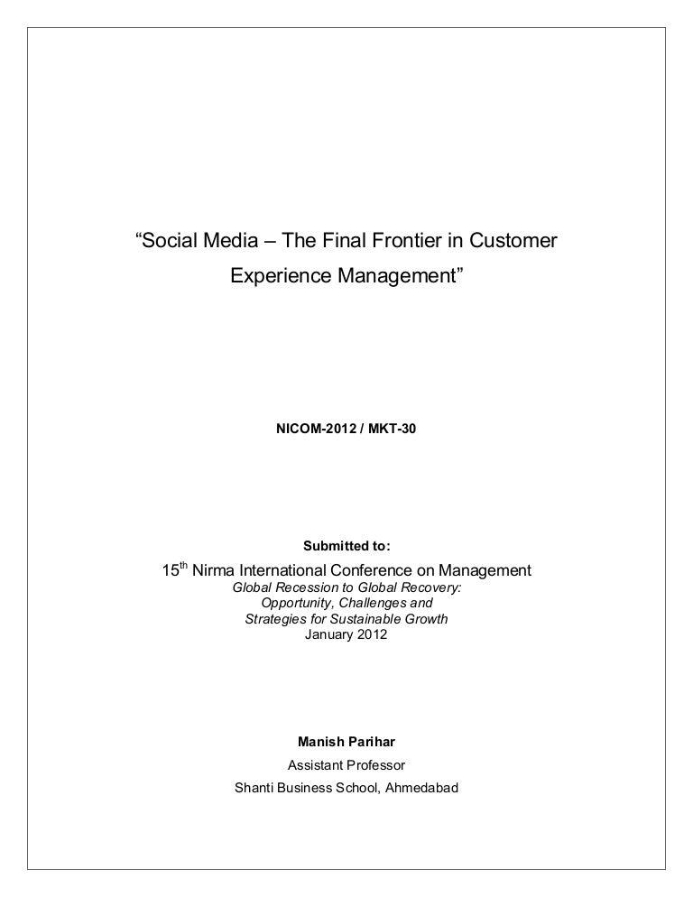 Research paper media