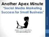 Social Media Marketing Success for Small Business