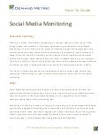 Social Media Monitoring How-To Guide