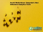 Snapchat's New Influencer Analytics Tools