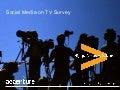 Social media on tv survey
