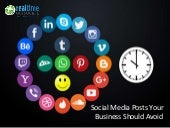 Social Media Posts your Business should Avoid