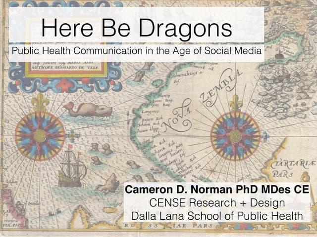 Social Media & Public Health Communication