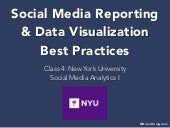 Social Media Reporting & Data Visualization Best Practices