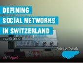 Defining Social Networks in Switzerland 2011#2