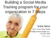 7 Steps to Building a Social Media Training Program