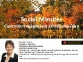 Social Minutes: Customer Engagement 20 minutes/day