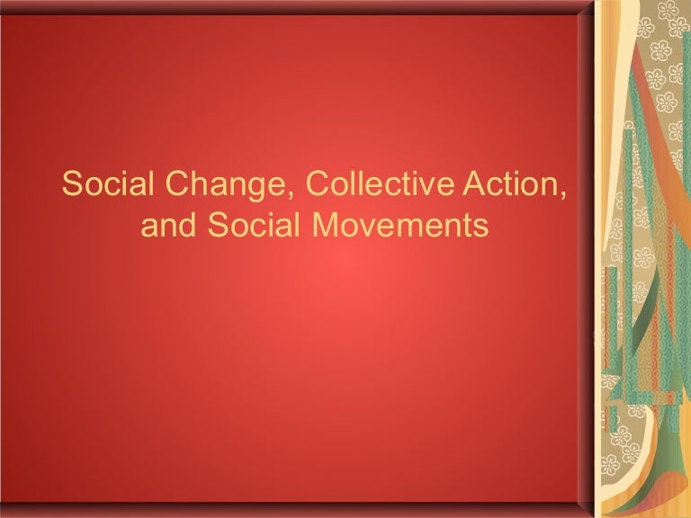 meaning and definition of social change