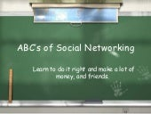 ABC's of Social Networking Success
