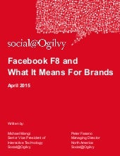 Facebook F8 and What It Means For Brands