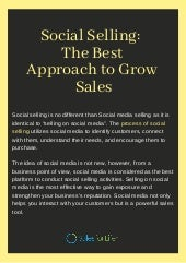 Social Selling: The Best Approach to Grow Sales