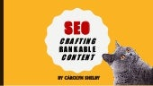 SEO: Crafting Rankable Content