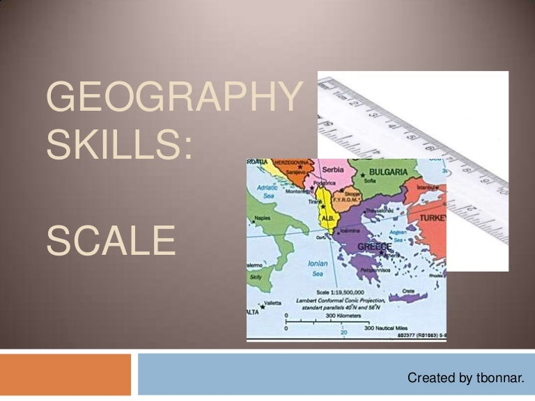 Geography Skills Scale