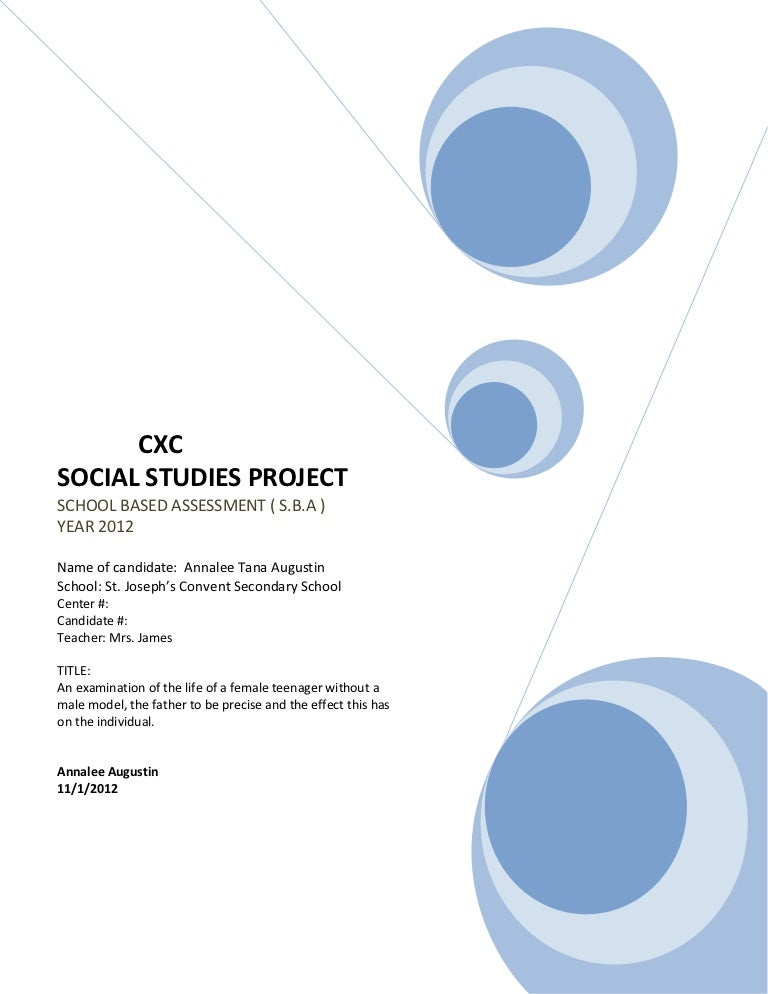 alcohol use social studies sba Sba en español.