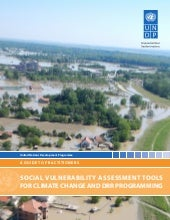 Social Vulnerability Assessment Tools for Climate Change and DRR Programming