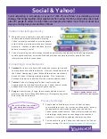 Social & yahoo! overview