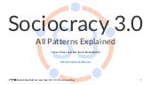 Sociocracy 3.0  - All Patterns Explained