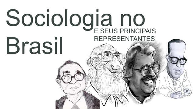 Sociologia no Brasil