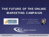 The Future of the Online Marketing Campaign