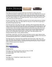 Sofadesign