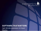Software That Matters - Agile Anforderungsanalyse mit Impact Mapping