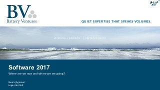 Software 2017 - Where are we now and where are we going?
