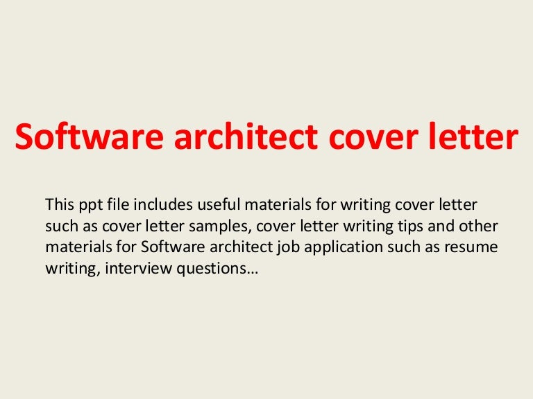 Awesome Software Architect Resume CV Writing Tips YouTube