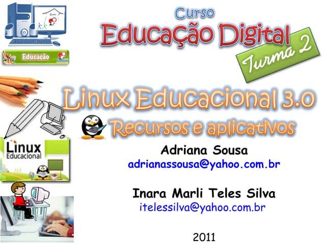 Linux Educacional - Turma 2