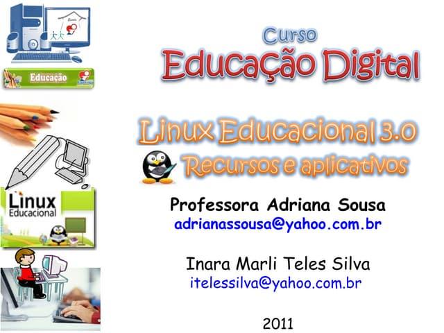 Software Livre e Linux Educacional 3.0