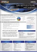 HCLT Brochure: Software Product Quality and Compliance