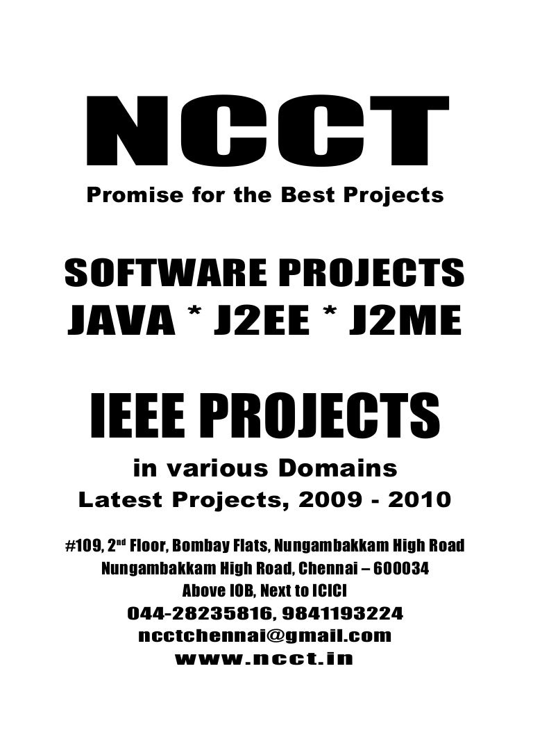 Software Projects Java Projects Ieee Pattern Analysis