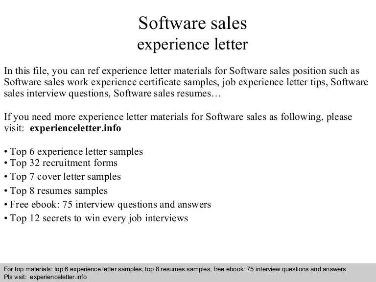 Softwaresalesexperienceletter 140827021040 Phpapp01 Thumbnail 4cb1409105464