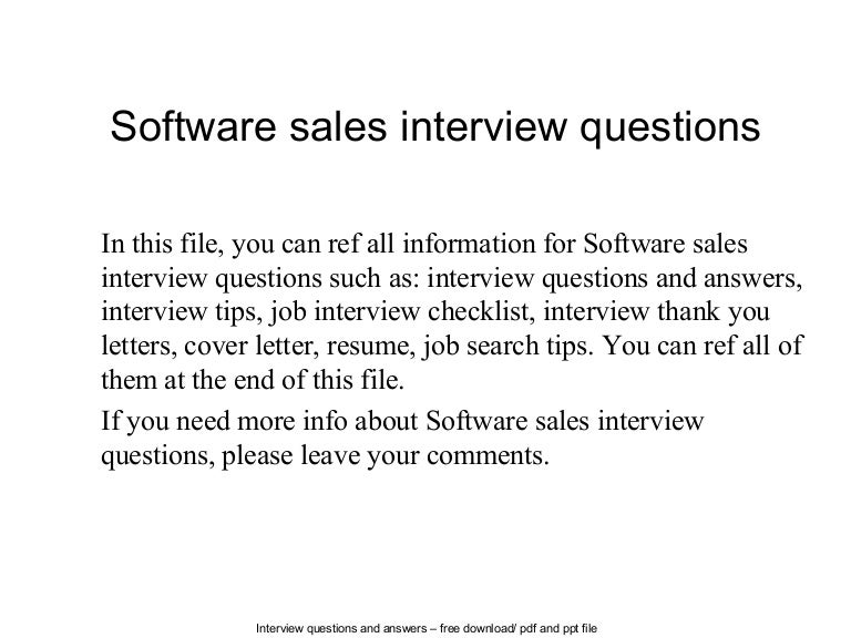 Softwaresalesinterviewquestions 140613064112 Phpapp01 Thumbnail 4cb1402641722