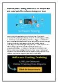 Software testing training in kolkata