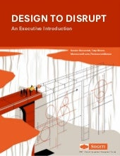 Design to Disrupt: An Executive Introduction - Sogeti VINT