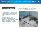 Solar impulse performs analyses up to 5x faster with ptc mathcad