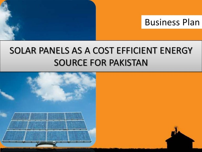solar energy business plan